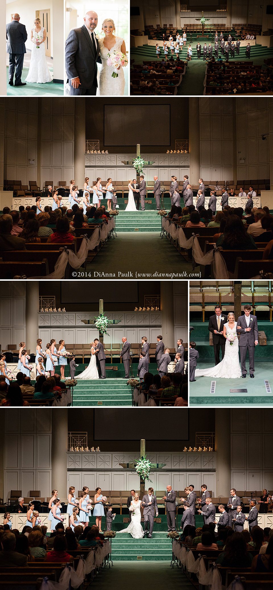 Ashley + Jesse at Eastmont Baptist Church {Montgomery AL ...
