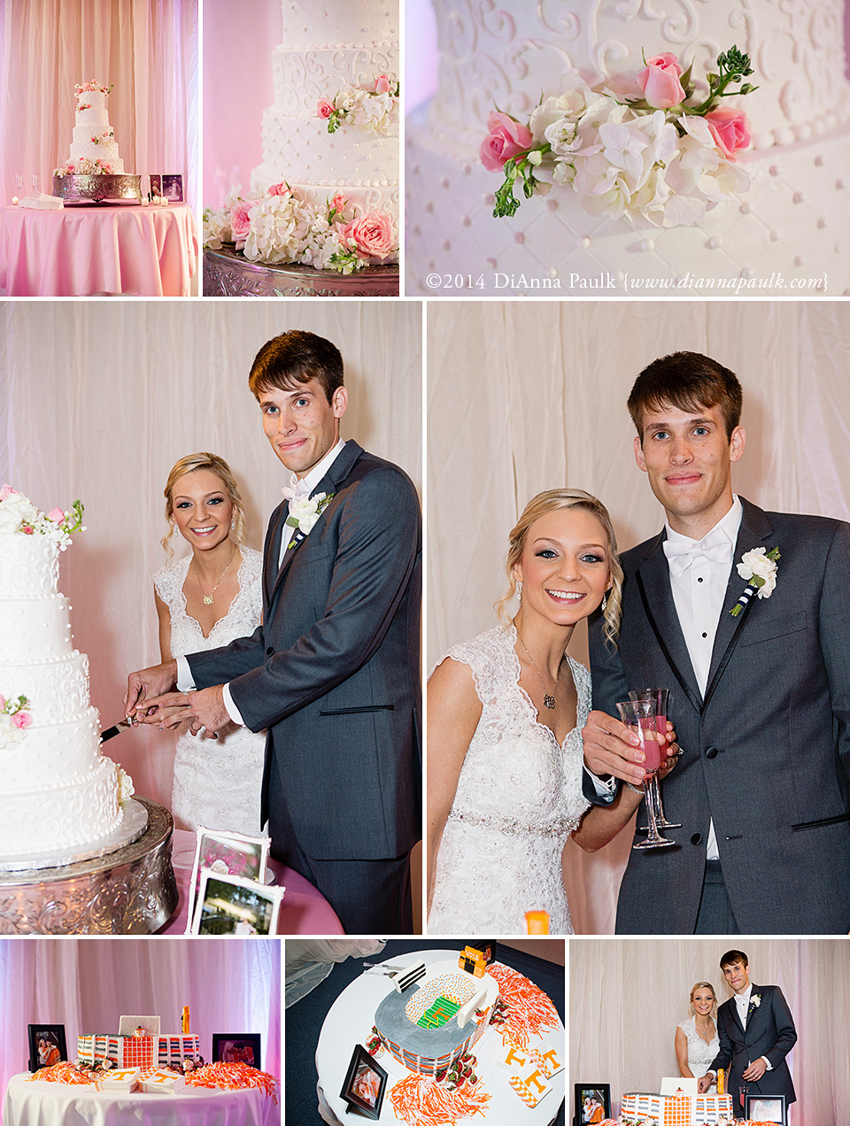 Cake Designs Debbie Drive Montgomery Al : Ashley + Jesse at Eastmont Baptist Church {Montgomery AL ...