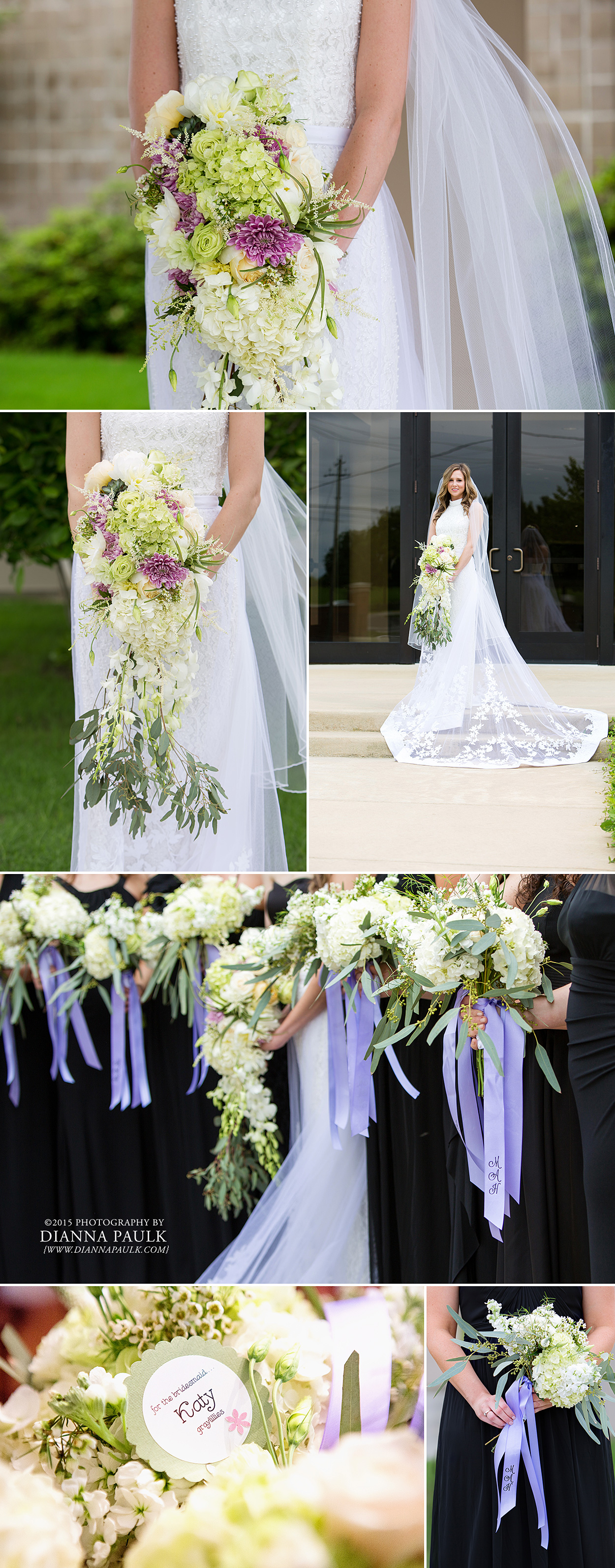 Beautiful Bridal And Bridesmaid Bouquets By Graylillies Photography Dianna