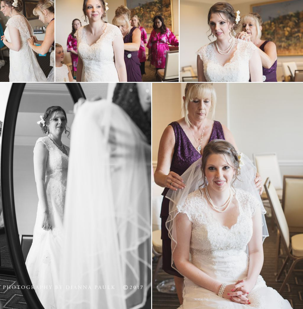 Wedding At The Capital City Club Photography By Dianna Paulk A Certified Professional Photographer