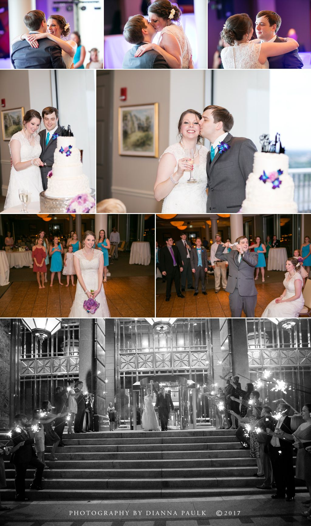 Wedding at The Capital City Club; Photography by DiAnna Paulk, a certified professional photographer in Montgomery AL