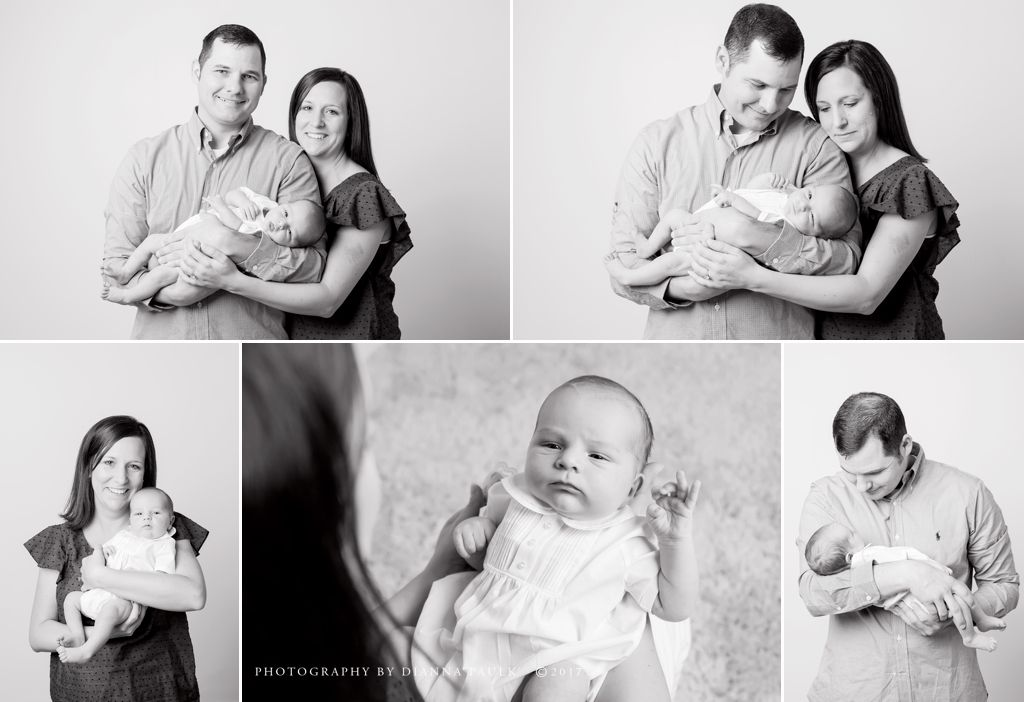 Newborn session; Photography by DiAnna Paulk, a certified professional photographer in the Montgomery AL area