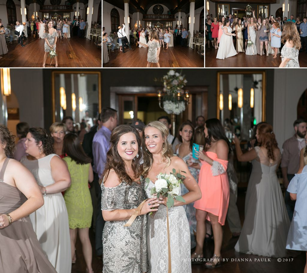 Wedding Reception at The Emporium of Troy AL; Photography by DiAnna Paulk, a certified professional photographer in Montgomery AL