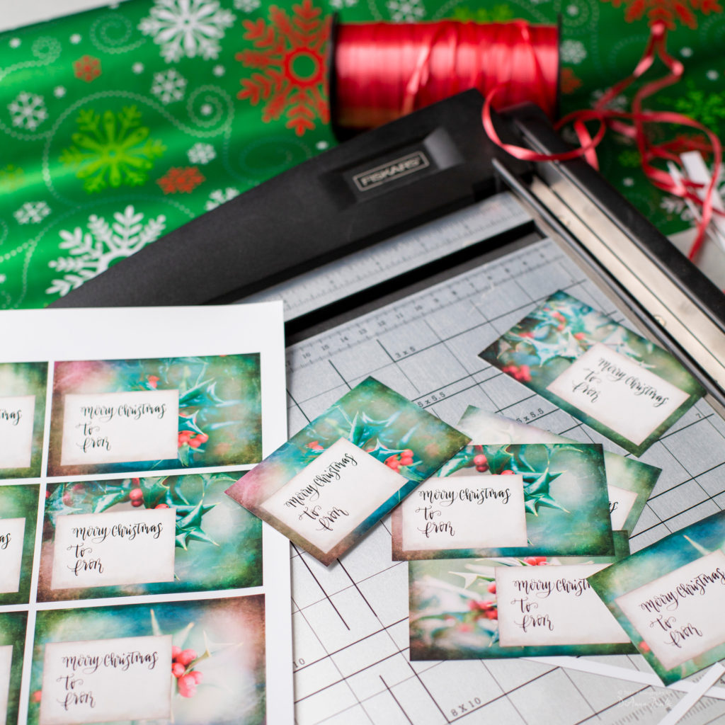 Christmas Gift Tags Photography By Dianna